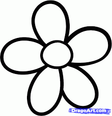 Small Picture How to Draw a Daisy for Kids Step by Step Flowers For Kids For