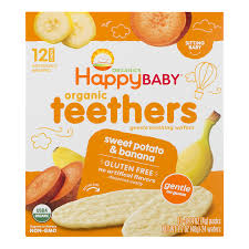 <b>Happy Baby</b> Organic Sweet Potato & Banana Gentle Teething ...
