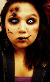 easy zombie makeup ideas photo 12 25 best crazy scary halloween make up looks ideas