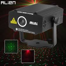Lazer Star Light Bar Alien Mini R G Laser Projector Stage Lighting Effect Red