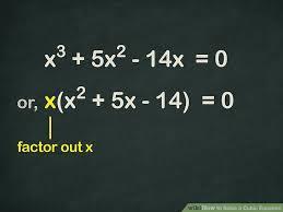 image titled solve a cubic equation step 2