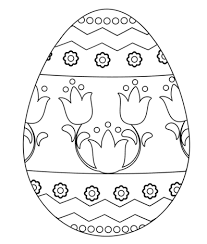 Free easter egg coloring pages make art time so much easier! Easter Eggs Coloring Pages Coloringpagesonly Com