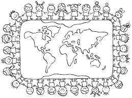 Children Of The World Coloring Pages Full Size Of World Coloring