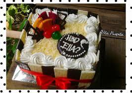 Resep Birthday Cake For Ella Oleh Vita Puspita Cookpad