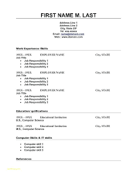 Resume Word Templates Word Resume Templates Chronological