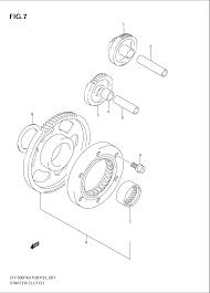 2005 suzuki vinson 4wd lt f500f starter clutch parts best oem 2005 suzuki vinson wiring diagram