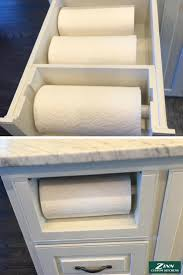 Kitchen Towel Storage 17 Best Ideas About Paper Towel Storage On Pinterest Closet