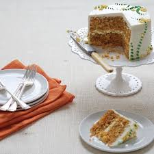 Carrot Cake With Cream Cheese Lemon Zest Frosting Recipe