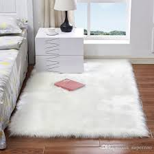 more size artificial sheepskin rug chair cover bedroom mat faux wool warm carpet seat wool warm textil fur area rugs computer chair fl bigelow