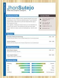 Resume Examples 44 Resume Design Templates Example Resume Design