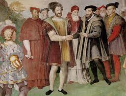francis i and charles v holy roman emperor made peace at the truce of nice