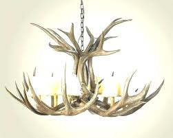 home amusing mini antler chandelier 27 with fan ceiling deer lighting fixture make s fixtures mini