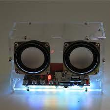 Diy Kaynak Elektronik Toplu Parçaları Mini Elektronik Bluetooth Hoparlör  Kiti (Uzaktan Kumanda, Renkli Değişen, Usb Güç