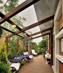 telhado de vidro 50 ideias para transformar sua casa pergola with clear roof d7