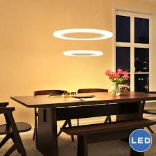 vmcsw led chandelier adjule hanging light modern two tier