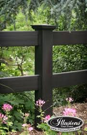 Illusions PVC Vinyl Fence Photo Gallery Rail fence Fences and