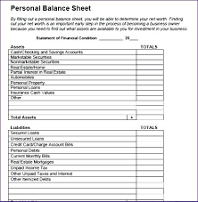 simple balance sheet example balance sheet example excel spreadsheet template simple balance