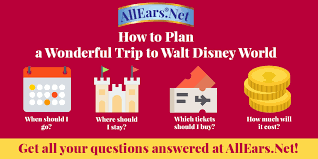 Trip Planner Cost Planning A Trip To Walt Disney World Allears Net