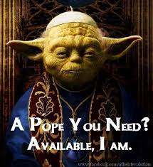 Meister Yoda Als Papst Nachfolger Oder Doch Cartman Oder Der Pate