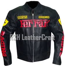 Check out our ferrari jacket selection for the very best in unique or custom, handmade pieces from our jackets & coats shops. Ferrari Biker Motorcycle Racer Genuine Cowhide Leather Rider Jacket With Armour For Sale Online Ebay