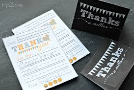 Free Printable Thank You Cards – Hip2Save