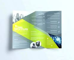 Brochure Templates In Word Simple 48 Page Brochure Template Newsph