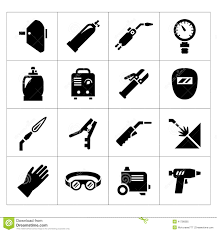 welding tools clipart. set icons of welding royalty free stock photo tools clipart