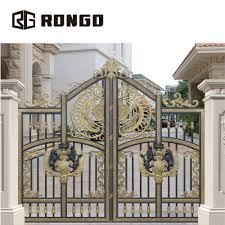 Gate Design Online Rongo Low Price Laser Cut Modern Steel House Gates Grill Design View Gates Grill Design Rongo Product Details From Foshan Rongo Door Technology Co