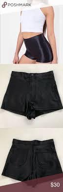 American Apparel Black Disco Short S American Apparel Black