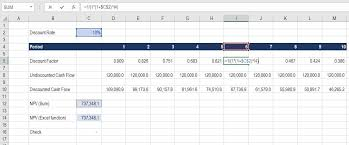 Excel Job Sheet Template Mesmerizing Discount Factor Complete Guide To Using Discount Factors In Model