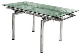 modern extendable glass dining tables for contemporary dining room decoration interesting dining room furniture for