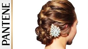 French Braid Updo Hairstyles French Braid Into Messy Bun Updo Hairstyles For Long Hair Youtube