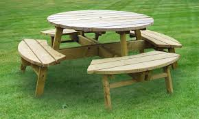full size of bench round picnic table home depot round picnic table plans round wood