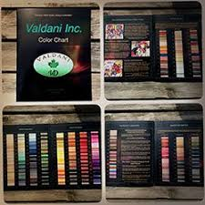 Valdani Color Chart Valdani Actual Threads Color Chart 197 Colors Special Offer
