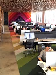 it office design ideas. a fresh look at panic softwares offices office space design interior love the color it ideas