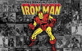 Background Vintage Marvel Comics Wallpaper