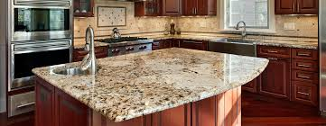 add the finishing touch to your custom kitchen or bathroom with custom granite countertops
