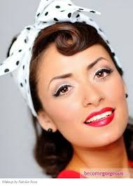 tutorials 1950s hairstylespin 25 best ideas about 1950s make up on rockabilly makeup vine make up