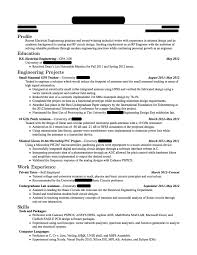 Electrical Engineering Resume Sample Resume Fresh Graduate Electrical Engineering Danayaus 23