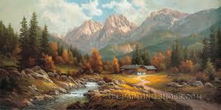 wall art decoration ideas art paintings reion famous landscape painting size 48