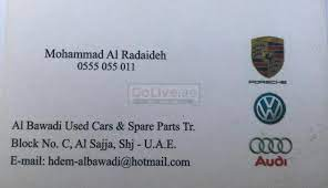 al bawadi used cars spare parts tr