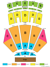 Thorough Nokia Theatre Seating Chart View Microsoft Theatre