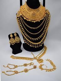 Gold Set Design 2019 In Pakistan Pakistani Bridal Jewellery Sets 2020 Jewellery Designs