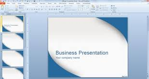 powerpoint them applying a template to powerpoint presentation