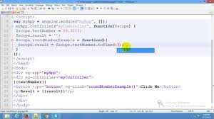 angularjs round to 2 decimal places exle angularjs tofixed function math function