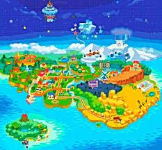 Flower Fields Paper Mario Paper Mario World Map Quiz By Dlspartan93