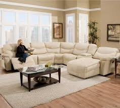 cream colored leather sectional thunderstax