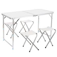 Camping Folding Table And Chairs Set Camping Tables Amazoncom