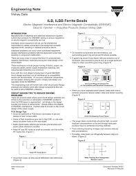How To Select Ferrite Bead For A Design Ilb Ilbb Ferrite Beads