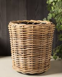 ... Large Outdoor Rattan Basket Planter ...